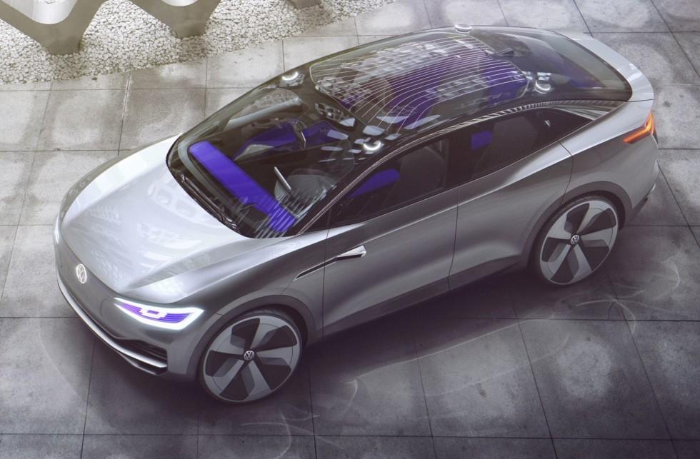 Компактный электрический кроссовер Volkswagen I.D. Crozz показывали на выставках уже дважды, а как будет выглядеть бюджетный субкомпактный паркетник с питанием от розетки, пока неизвестно.