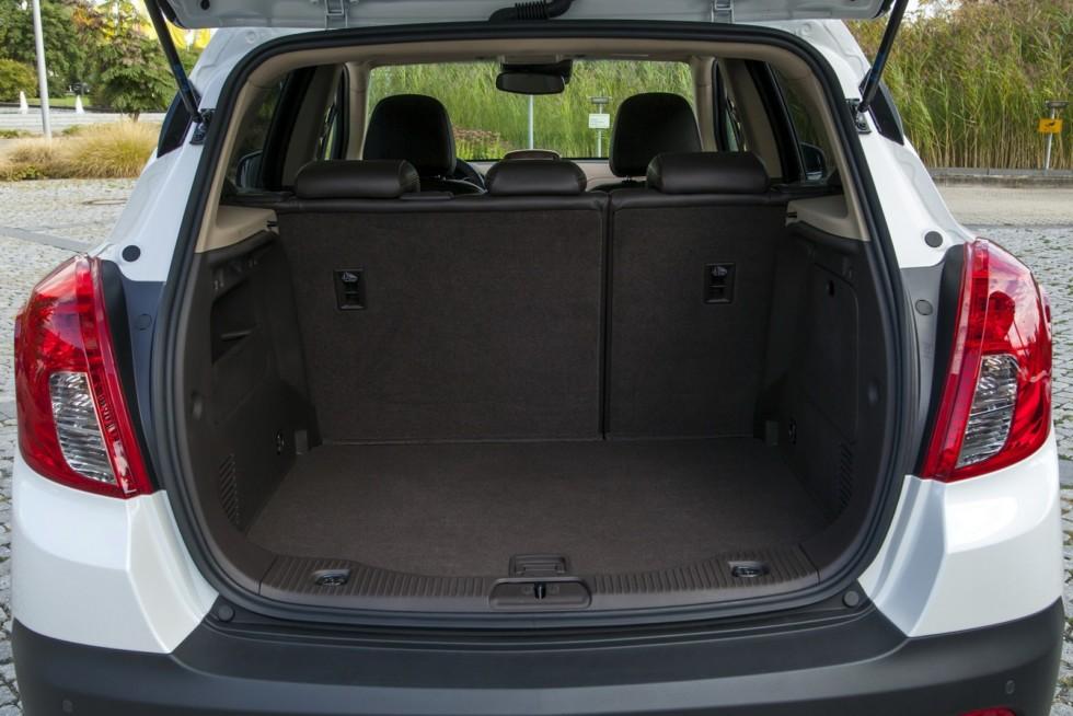 10 Интерьер Opel Mokka '2012–16