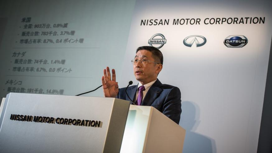На фото: гендиректор Nissan Хирото Сайкава