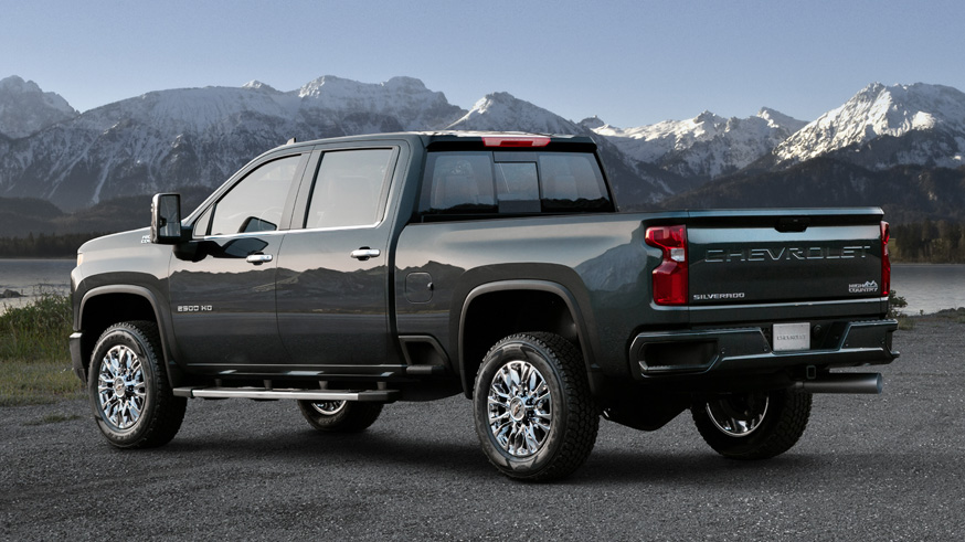 На фото: Chevrolet Silverado HD (High Country)