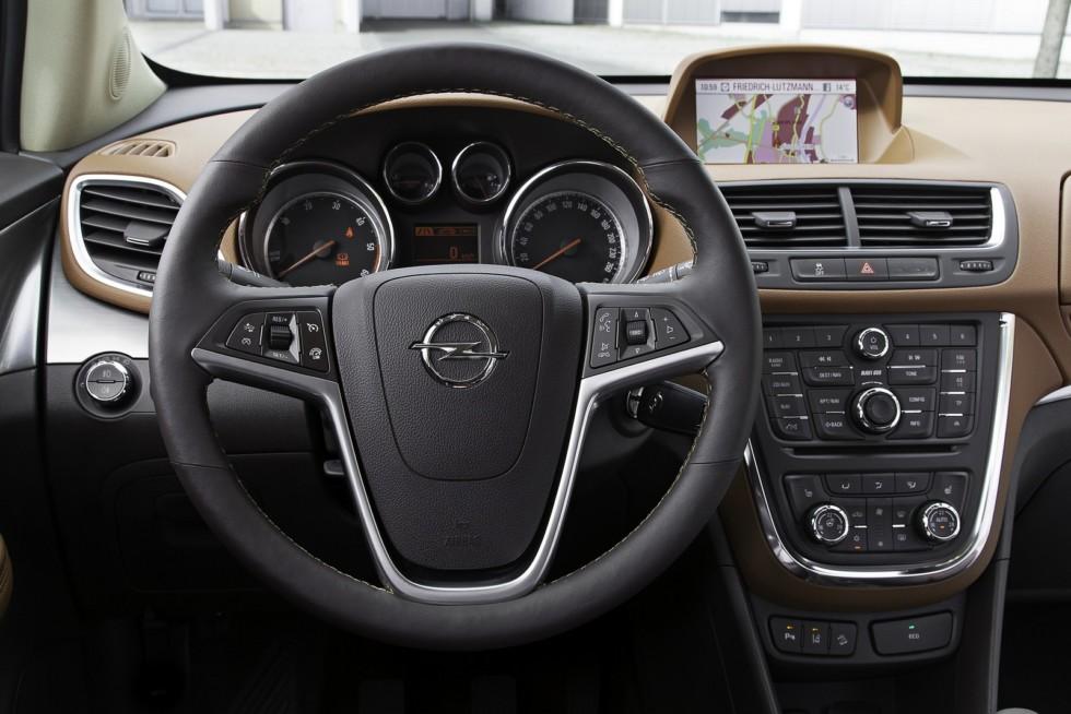 6 Торпедо Opel Mokka '2012–16
