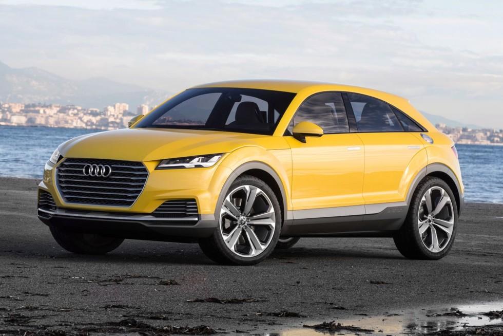 Компактный купеобразный кроссовер Audi анонсировала ещё в 2014 году концептом  TT offroad.