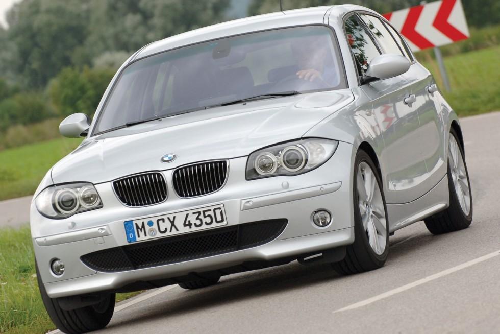 BMW 130i 5-door (E87) '2005–07