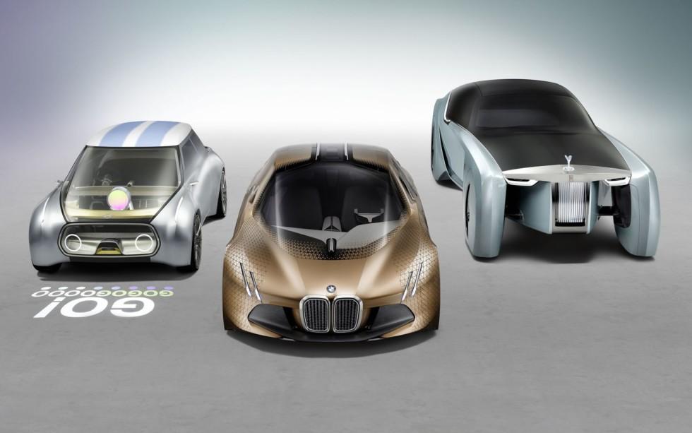 Облик автомобилей будущего BMW не менее шокирующий.
