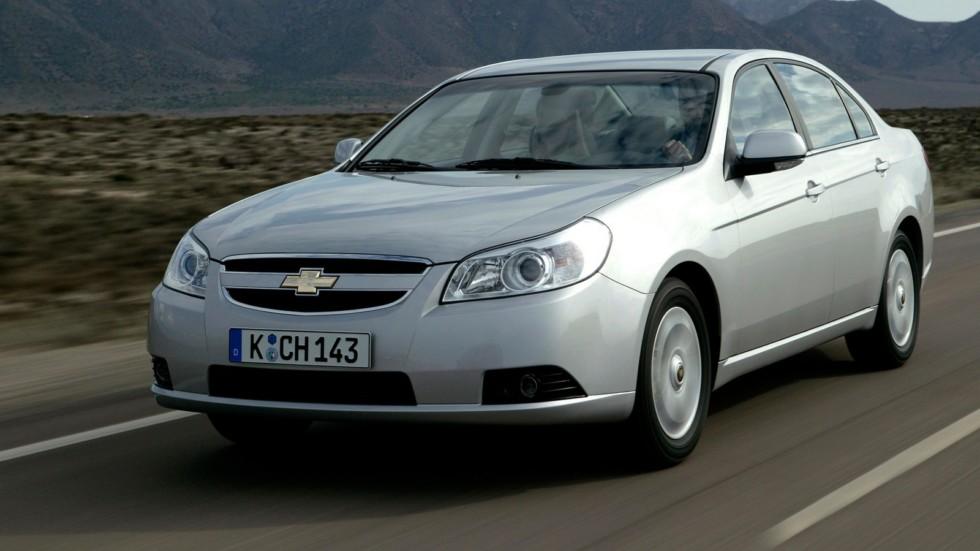 Chevrolet Epica (V250) '2006–08 на дороге