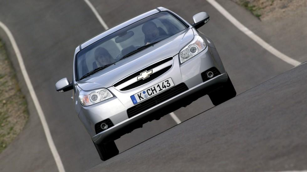 Chevrolet Epica (V250) '2006–08 спереди