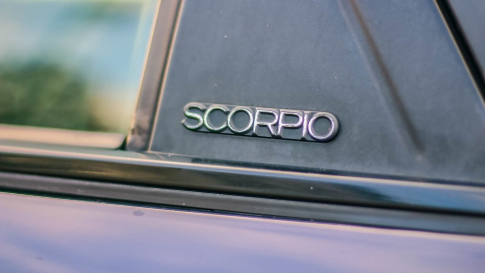 Ford Scorpio шильдик