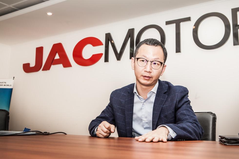 Юй Ян, заместитель генерального директора JAC International