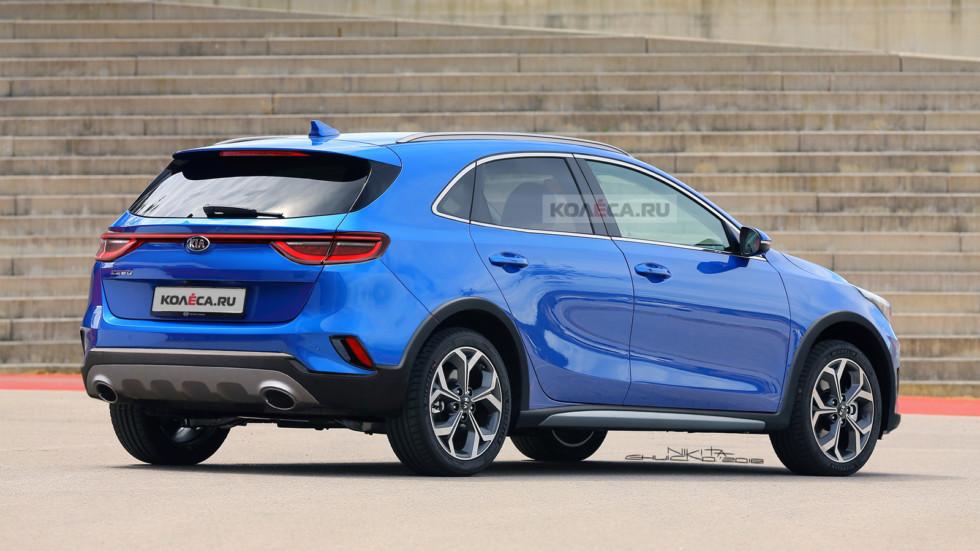 Kia Ceed SUV rear2