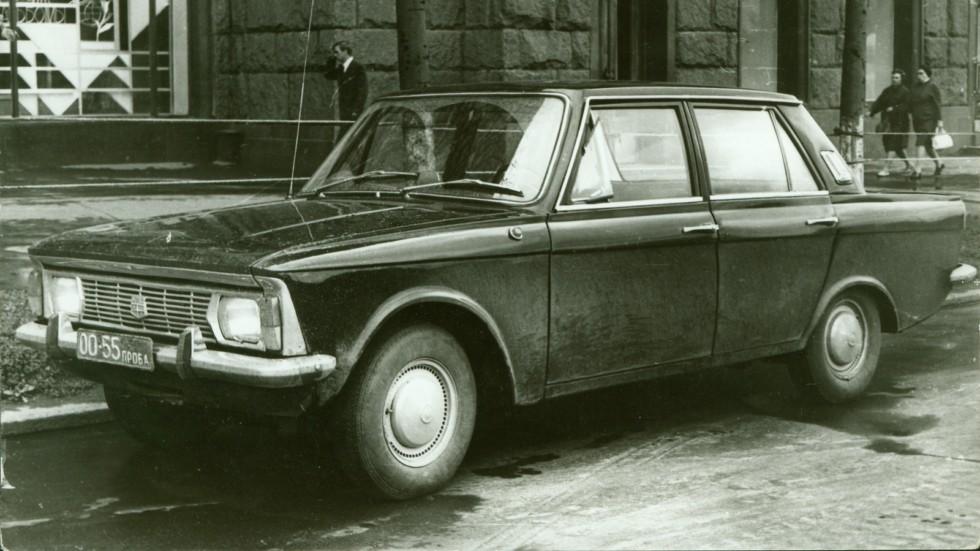 Москвич-2141 (прототип 3-5) декабрь 1968