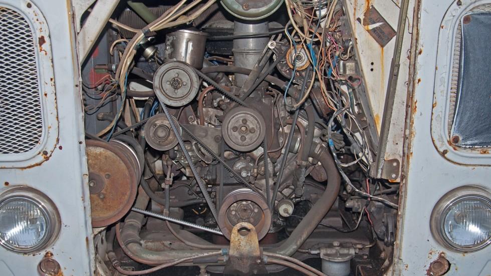 ПАЗ 672М двигатель