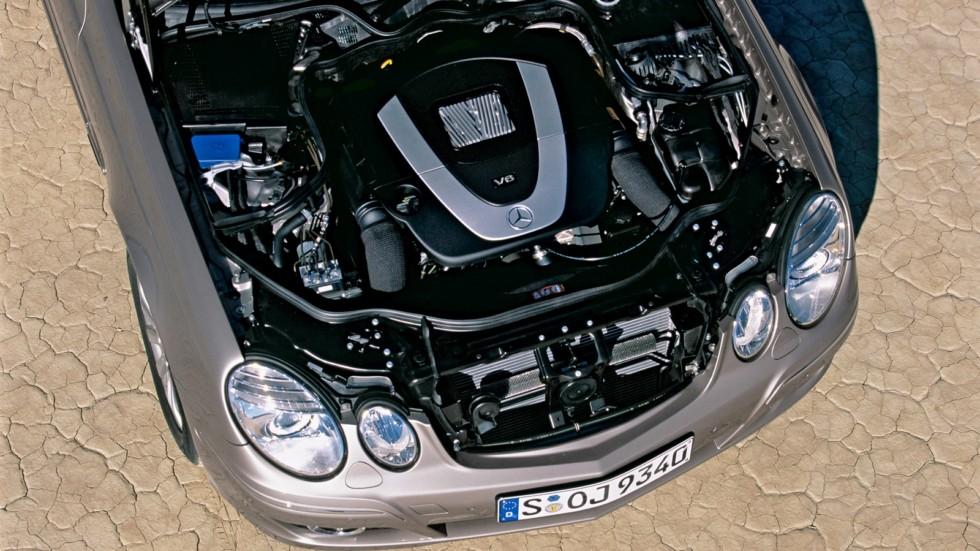 Под капотом Mercedes-Benz E 350 Worldwide (W211)