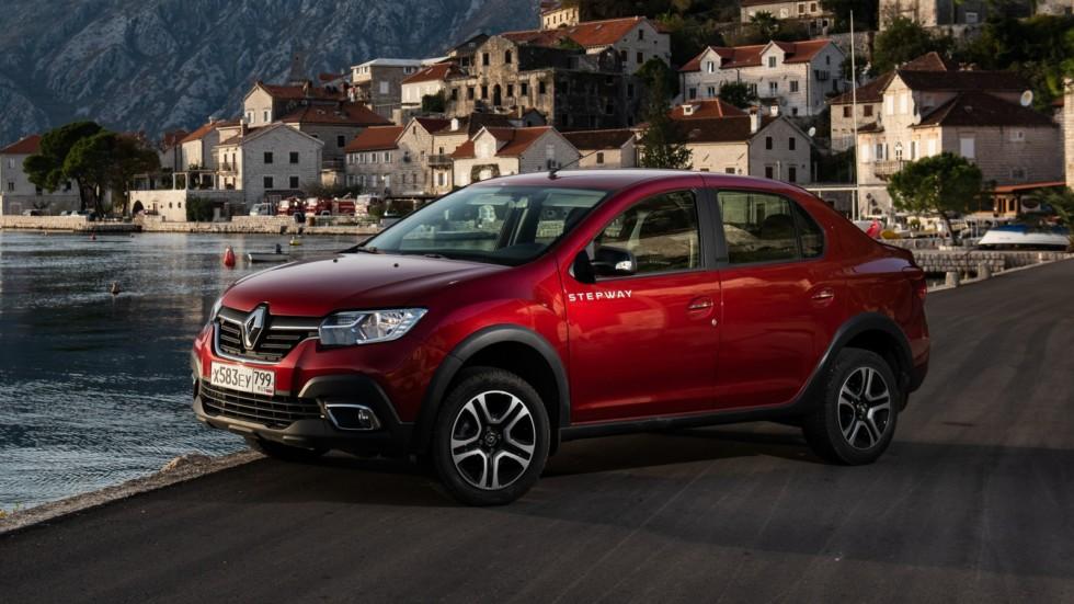 Renault Logan Stepway красный три четверти (2)