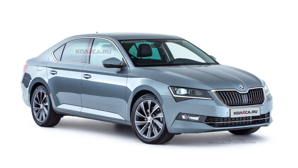 Skoda Superb rest front2