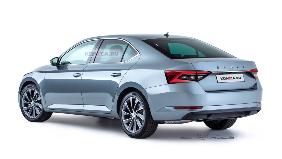 Skoda Superb rest rear2