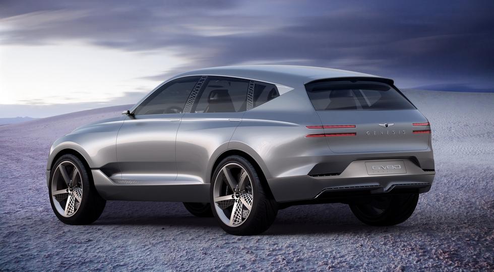 Hyundai намекнула на первый серийный кроссовер Genesis в официальном видео