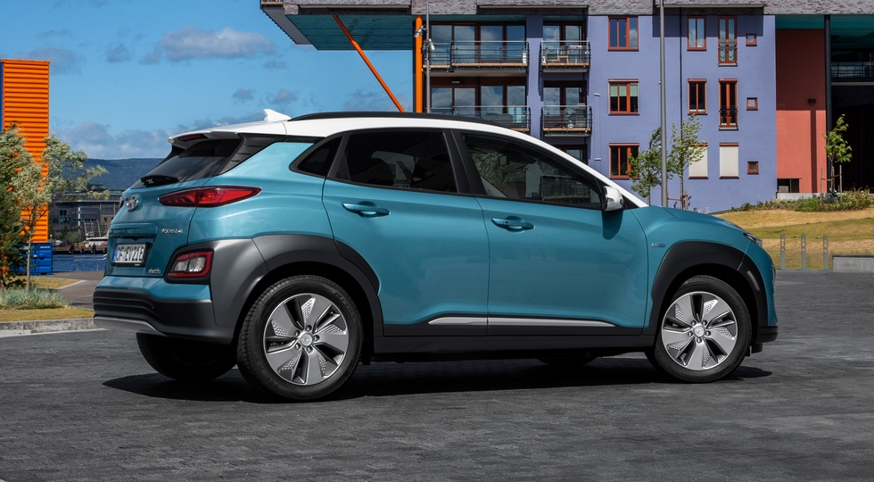 Дальнобойность «зелёных» кроссоверов Hyundai Kona и Kia Niro оказалась завышена
