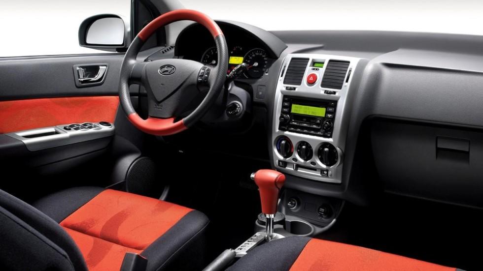 Салон Hyundai Getz' 2005-2010