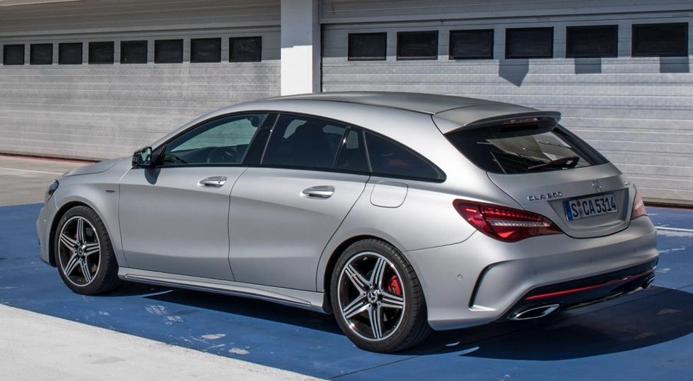 Четырехдверное купе Mercedes-Benz CLA может дебютировать в Детройте 75