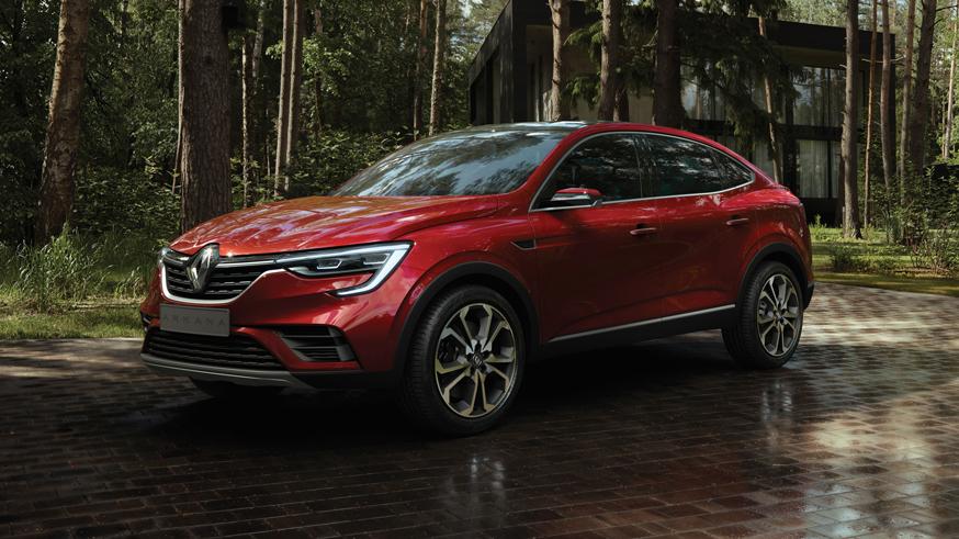 На фото: Renault Arkana