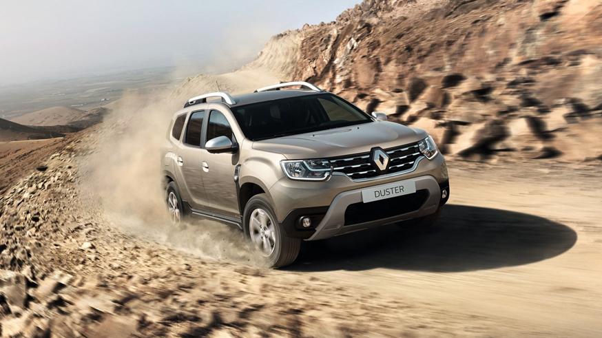 На фото: новый Renault Duster