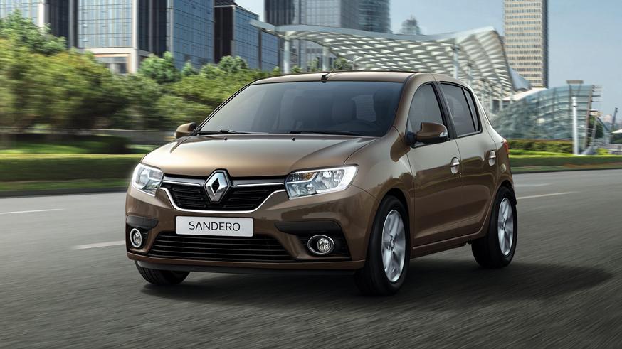 На фото: Renault Sandero для российского рынка