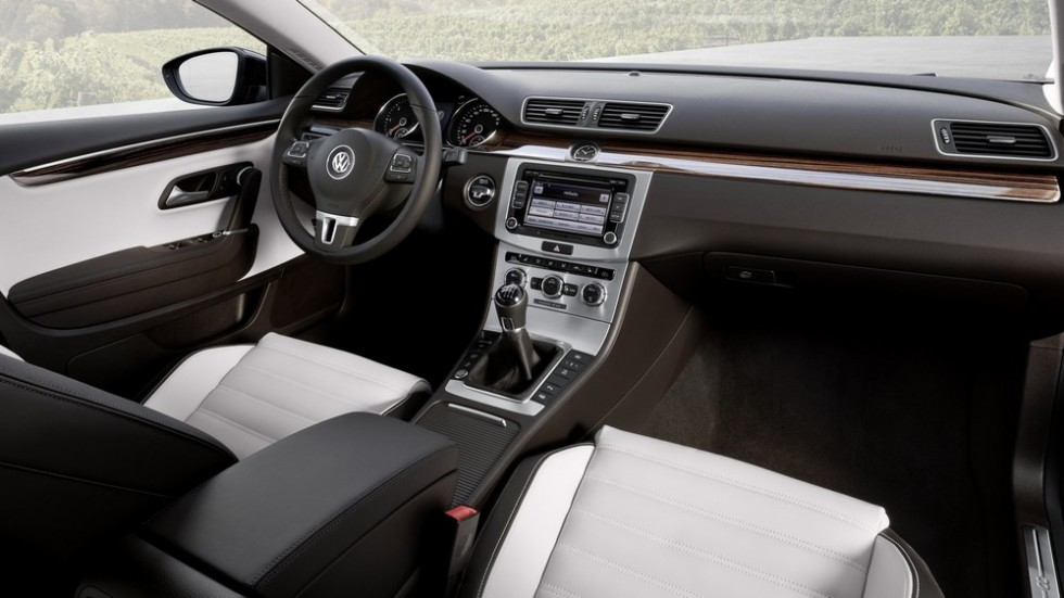 Салон Volkswagen CC BlueMotion '2012–17