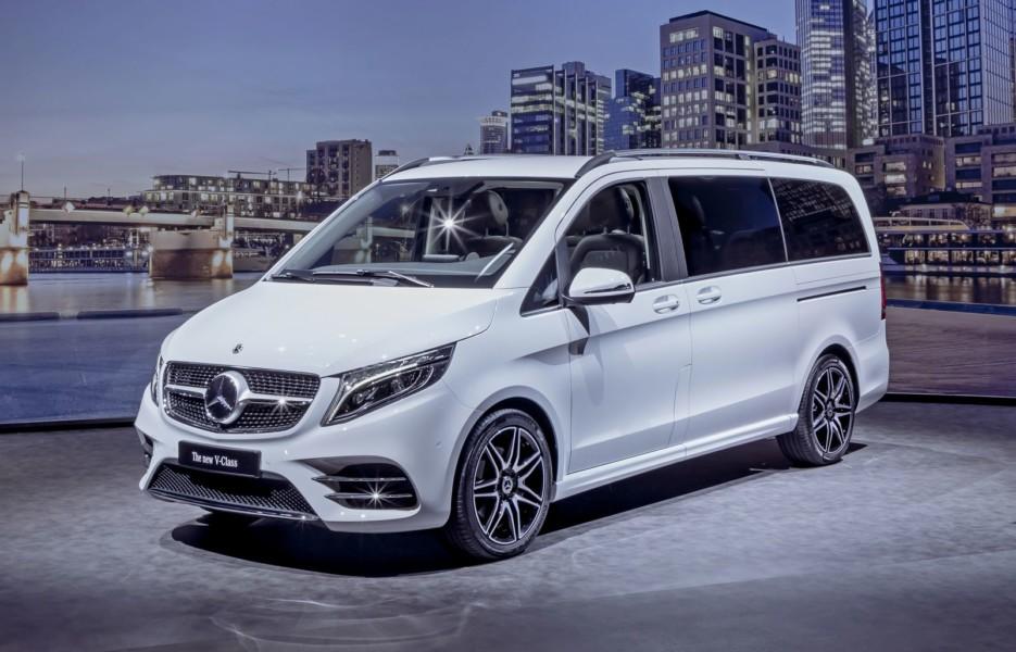 Обновлённый Mercedes-Benz V-Class: новый дизель и электрическая версия на подходе