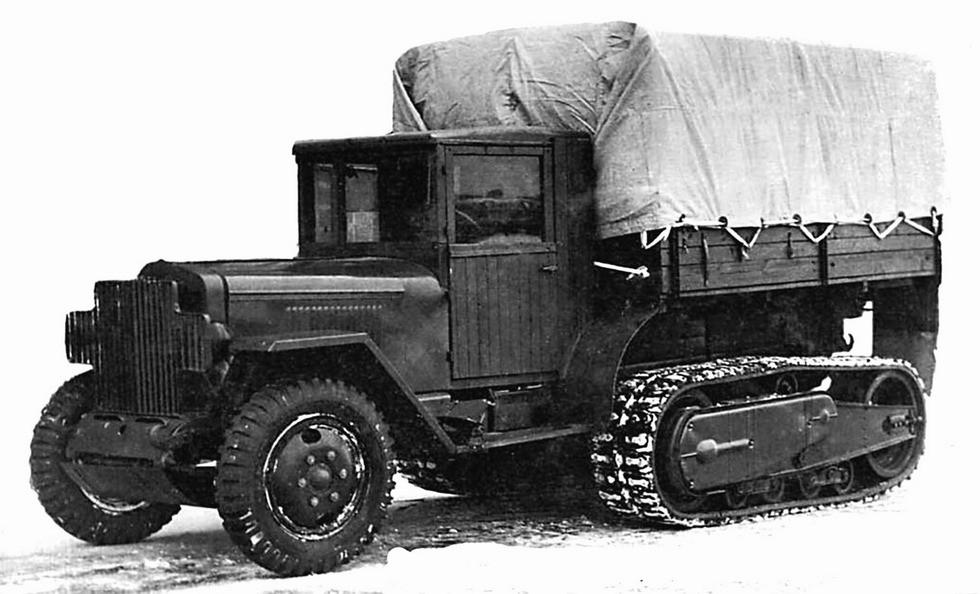 Артиллерийский тягач ЗИС-42М
