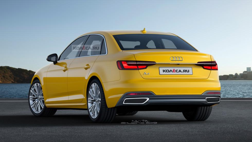 Audi A4 rest rear2