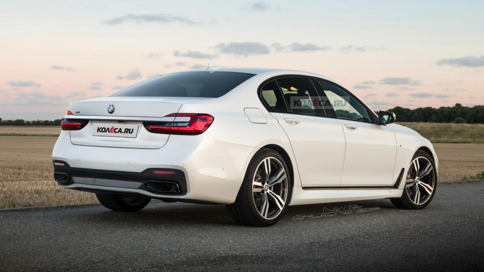 BMW 7er rear1