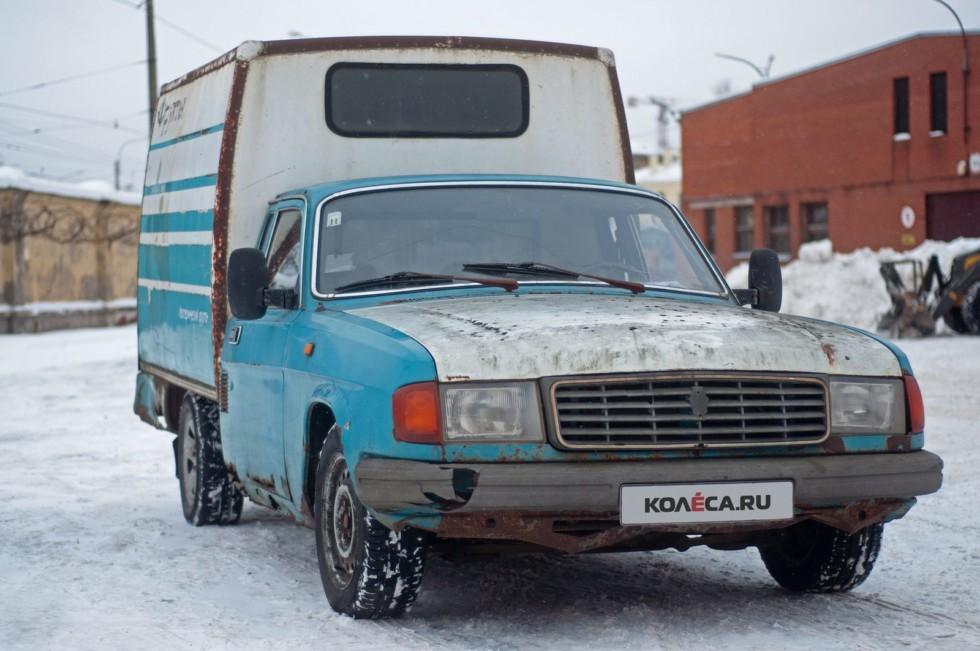 ГАЗ-2304 Бурлак три четверти