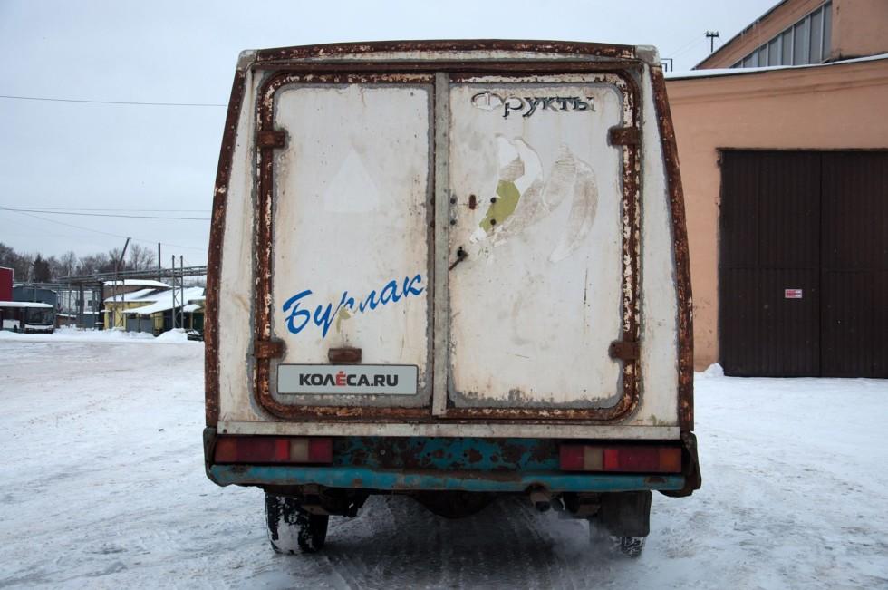 ГАЗ-2304 Бурлак сзади