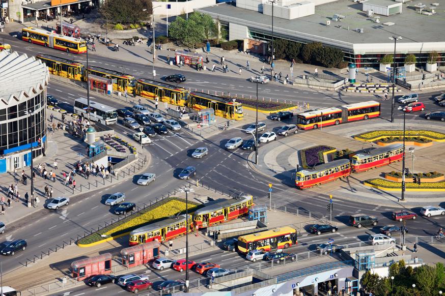 Двигаться по кругу станет проще: на дорогах «нарисуют» турбоперекрёстки