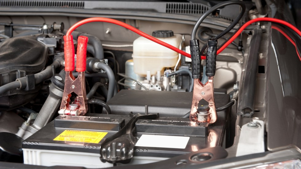 Automobile battery charging