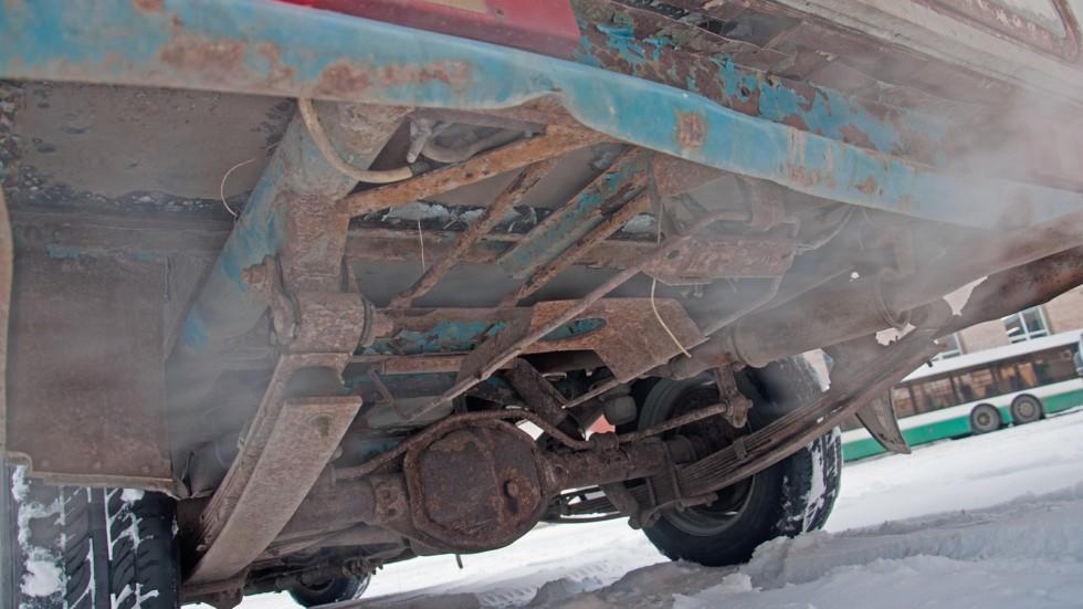 ГАЗ-2304 Бурлак подвеска