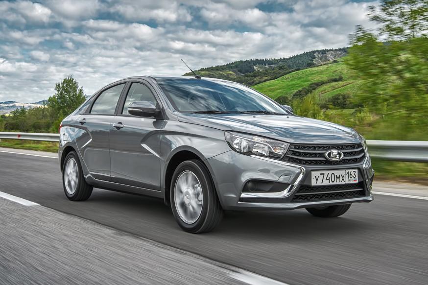 ТОП-25 бестселлеров РФ: лидер – Lada Vesta, а Hyundai Solaris в «минусе» третий год подряд