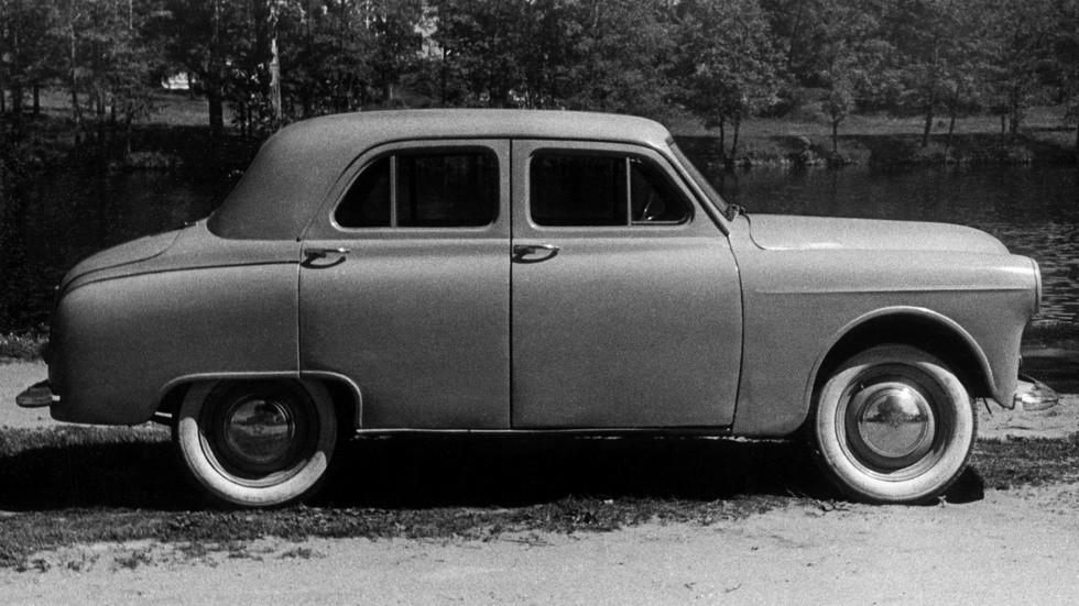Первый макетный Москвич-402-425 1951