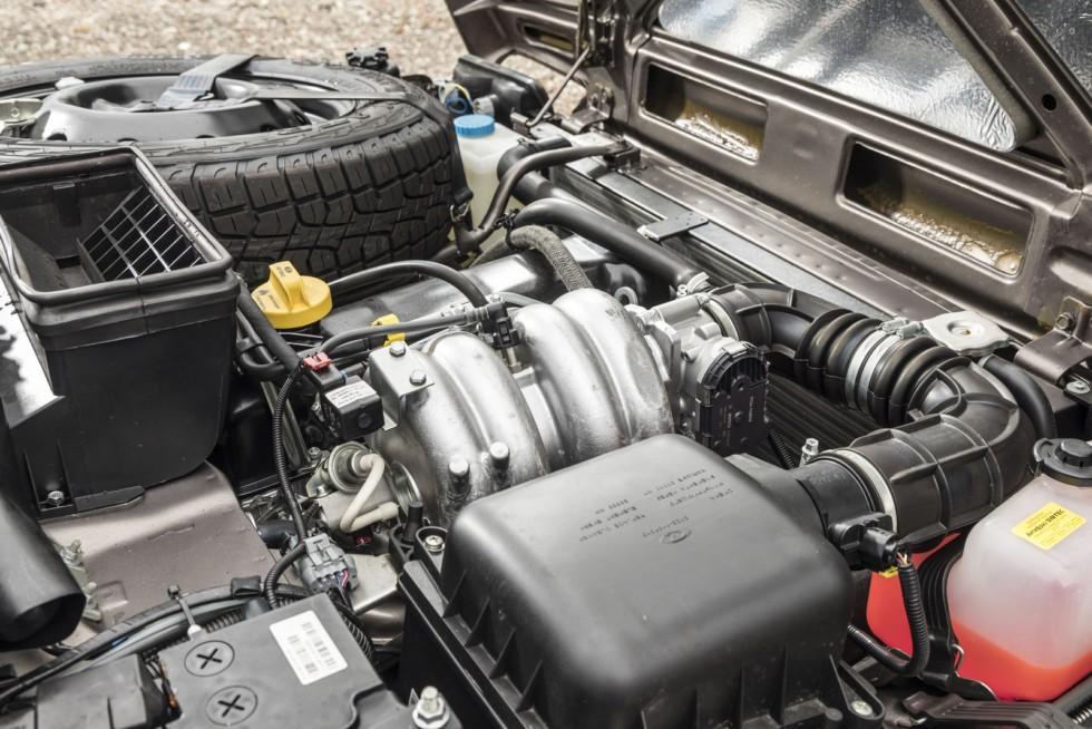 Под капотом Lada 4х4 Urban DE-spec (21214-57) '2015–н.в.