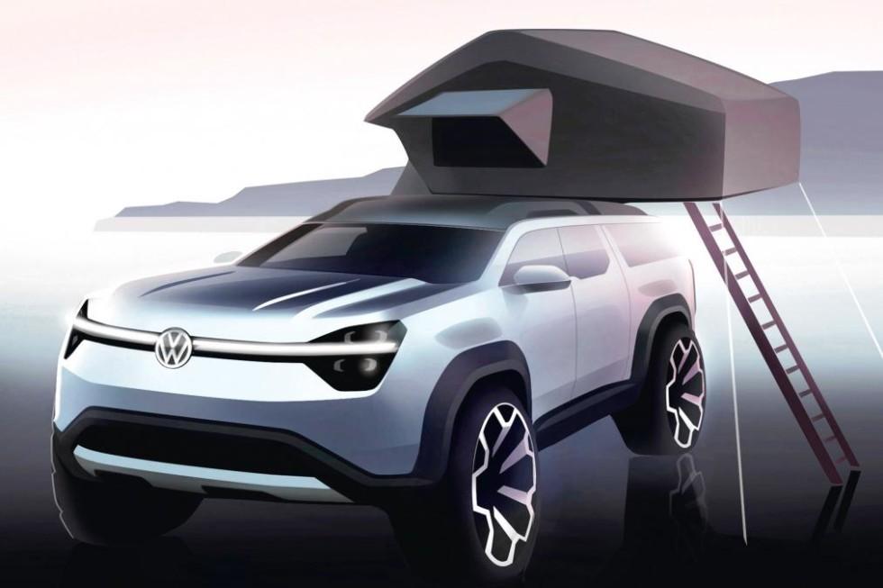 Новый внедорожник VW: официальные изображения и подробности