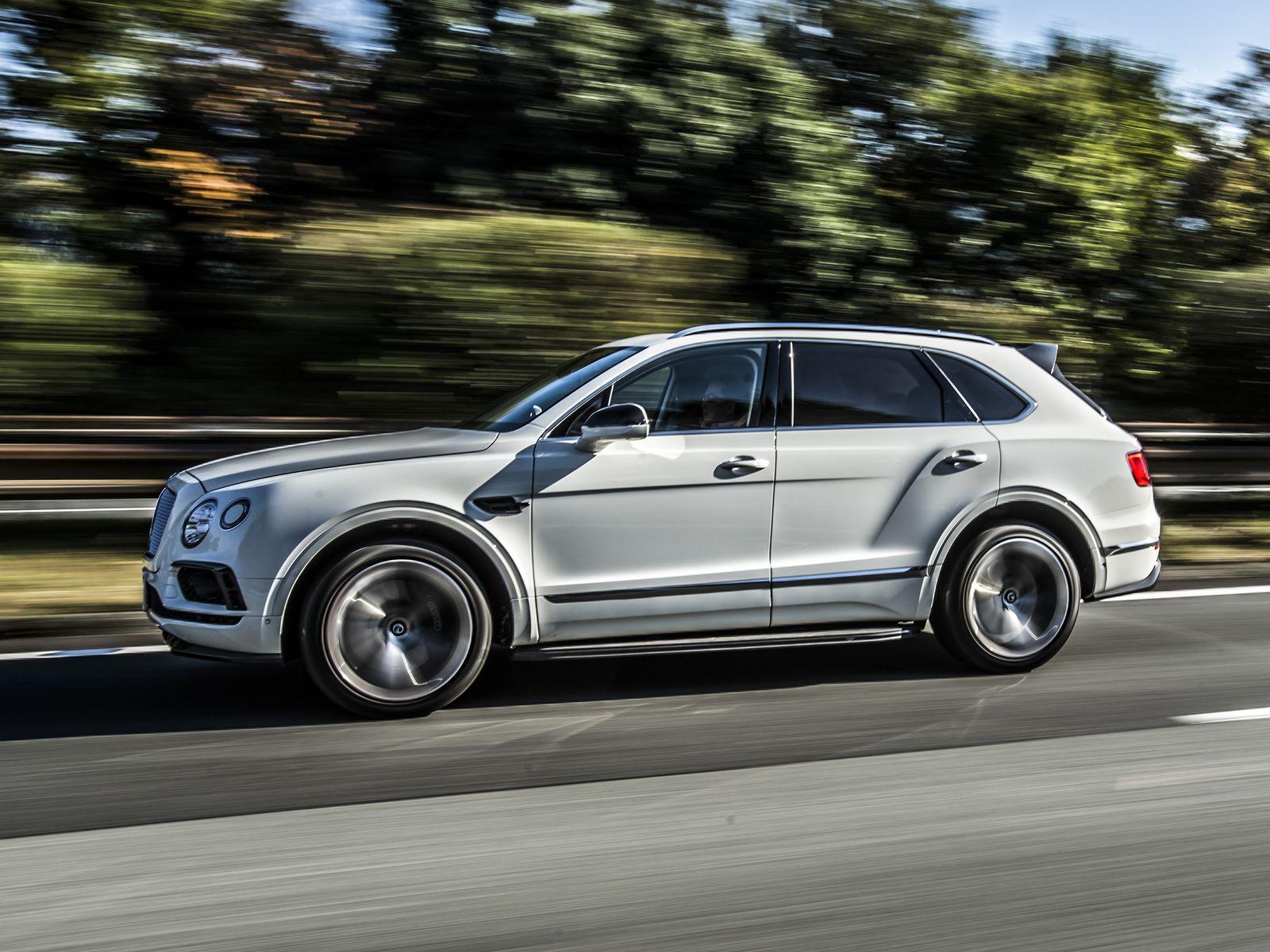 Приказано поднажать: Bentley Bentayga получит более мощный мотор