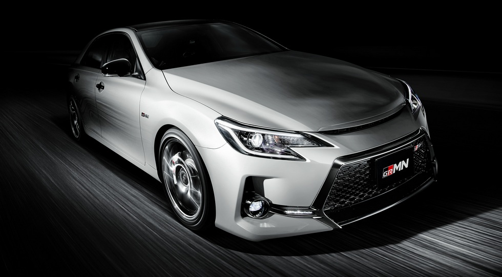 Новый Toyota Mark X GRMN