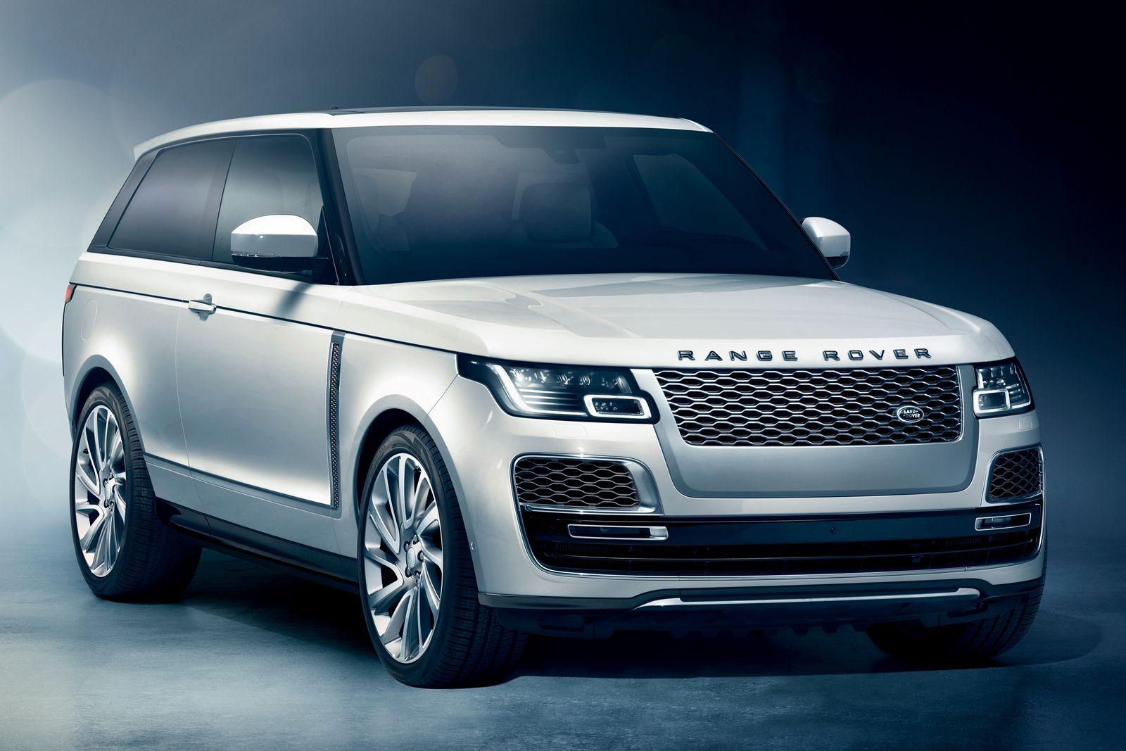 Ленд-Ровер  отказался отвыпуска Range RoverSV Coupe