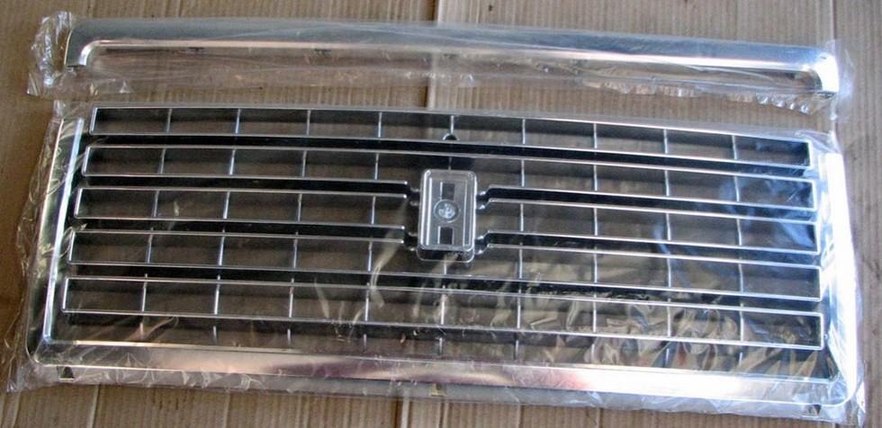 «Мерседесовская» рёшетка радиатора