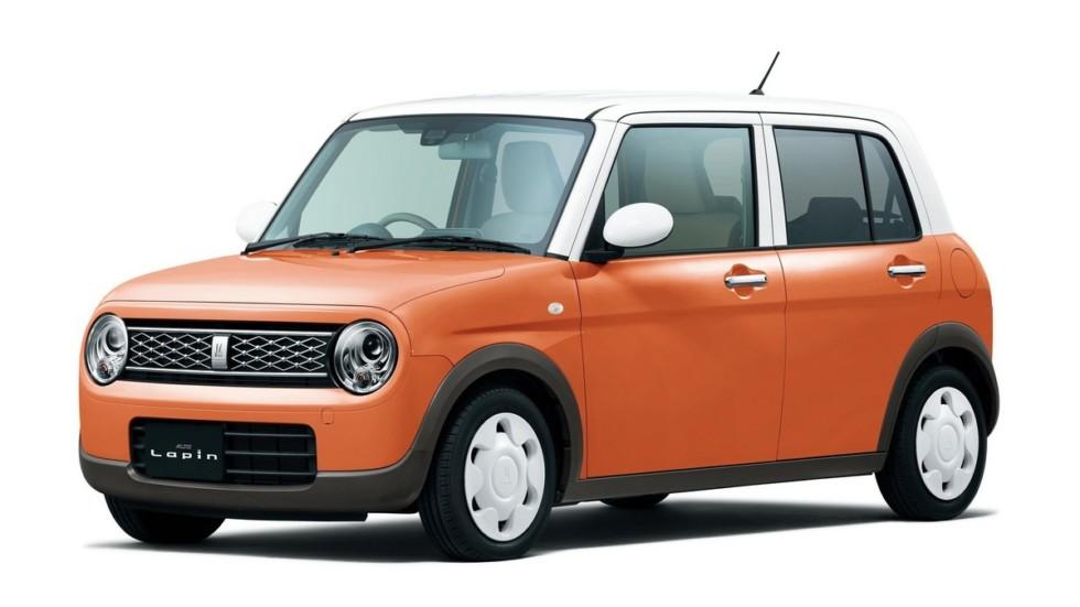 """С французского """"Lapin"""" переводится как """"кролик"""". Видимо это имя понадобилось, чтобы создать новую эмблему: уши кролика по мнению японских дизайнеров напоминают розетку. Кстати, у этого кей-кара есть и версия 4WD!"""