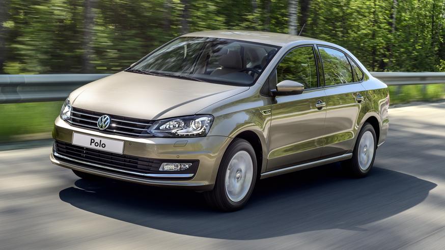 На фото: Volkswagen Polo
