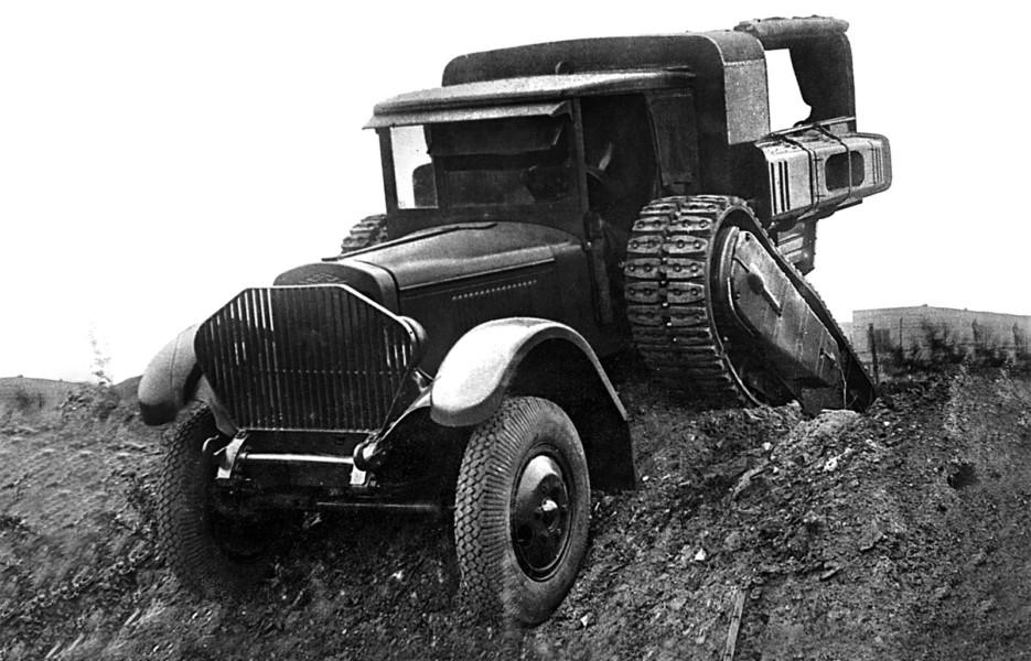 Война списала всё: почему советские полугусеничные машины времен ВОВ считались неудачными
