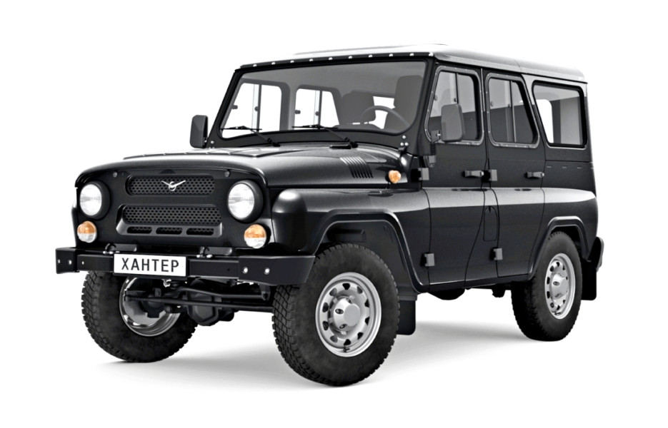 УАЗ Хантер обзавёлся ABS и стал грузовиком. Хорошо хоть, не трактором!