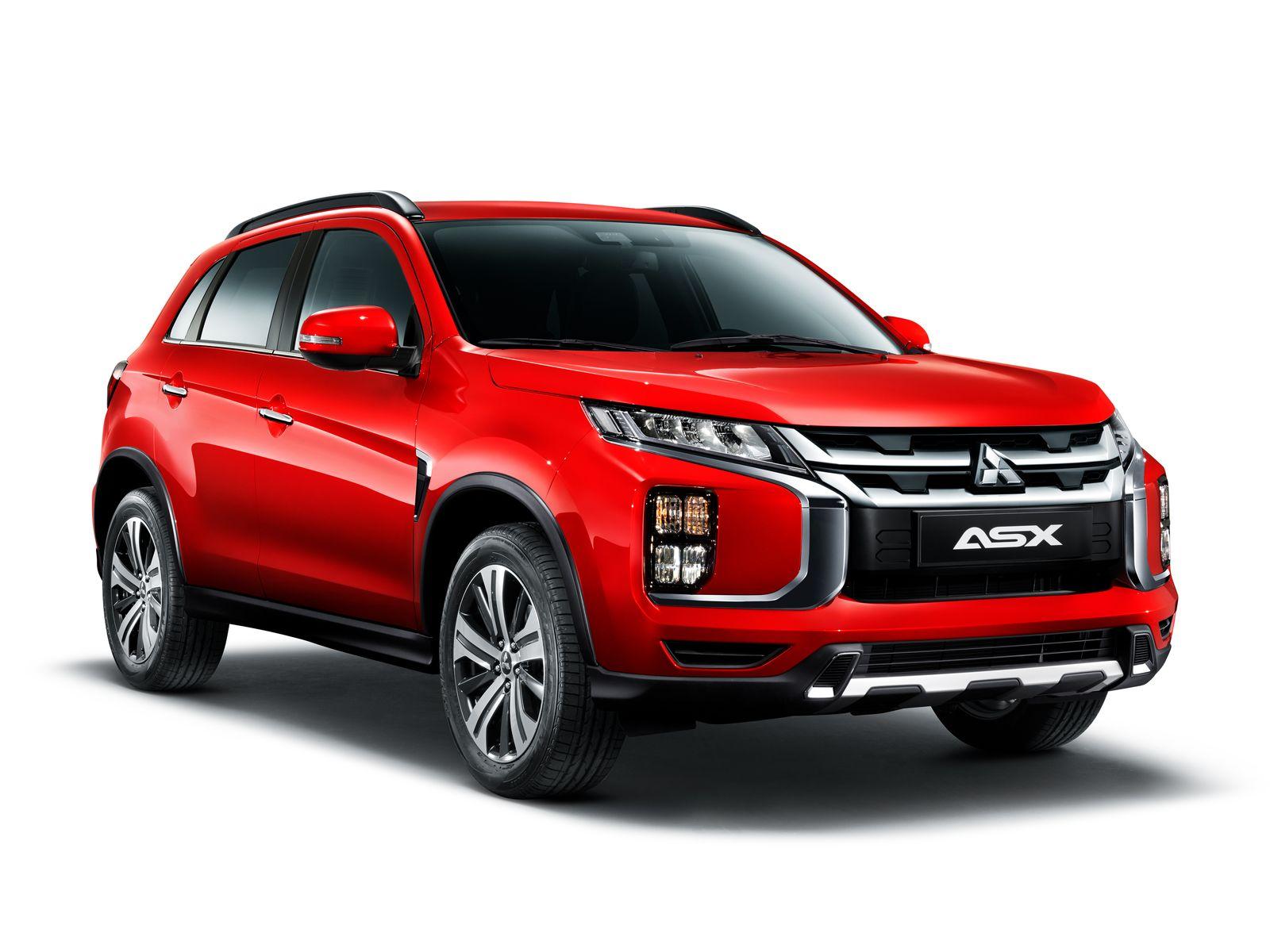 Новинка: Mitsubishi asx обновленный