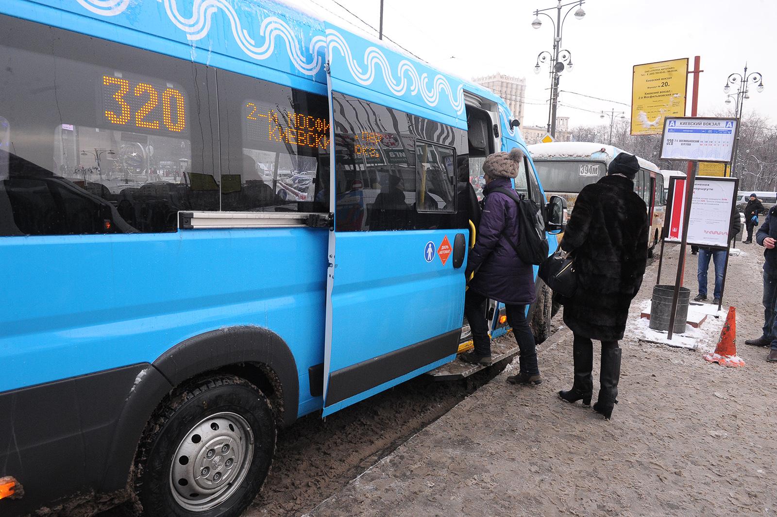 В Москву могут вернуться частные маршрутки – муниципальные не справляются